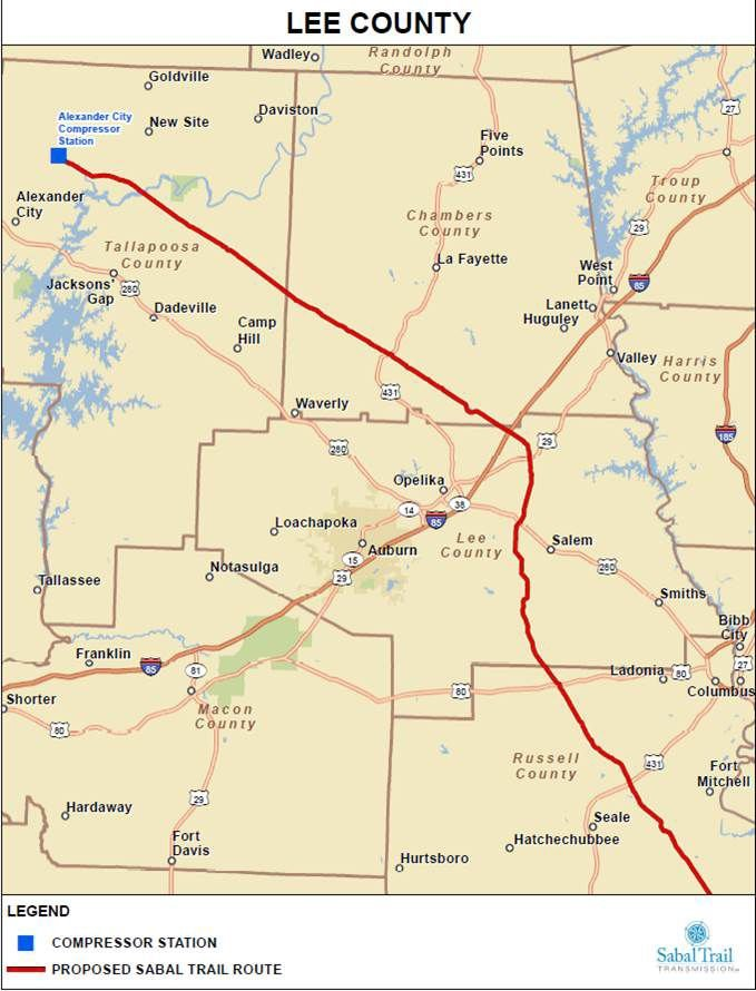 Sabal Trail gas pipeline to start construction in Lee County ... on trunkline gas map, bridge map, natural gas map, lebanon middle east map, airport map, middle east resource map, global warming map, yucca mountain map, gas processing map, nuclear reactor map, gas meter reading, landfill map, nexus gas transmission system map, transmission line map, shale gas map, gas pipelines in colorado, blank world map, europe temperature map, gas drilling in pa map, kyrgyzstan russia map,