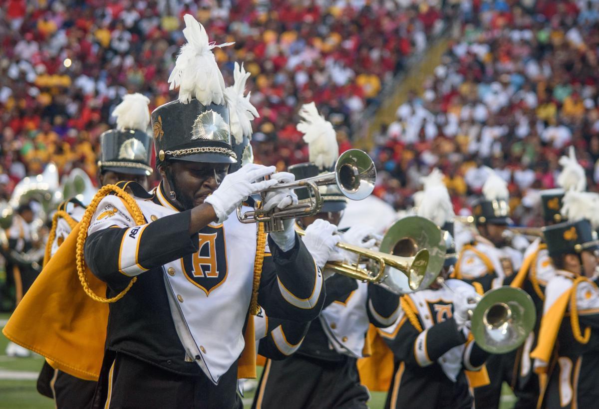 Alabama State band courtesy 01