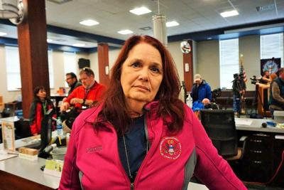 Lee County EMA Director Kathy Carson