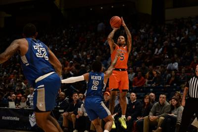 McCormick leads undefeated Auburn to 67-61 win over Saint Louis