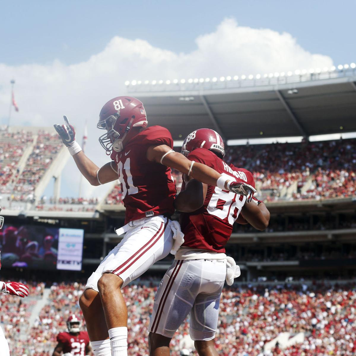 the best attitude b1926 dfe8a Alabama's O.J. Howard glad to score again | University of ...