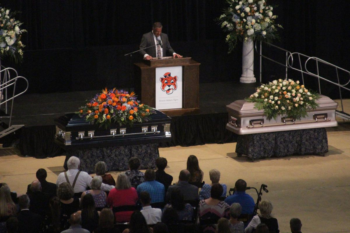 A community remembers Rod and Paula Bramblett at their memorial service