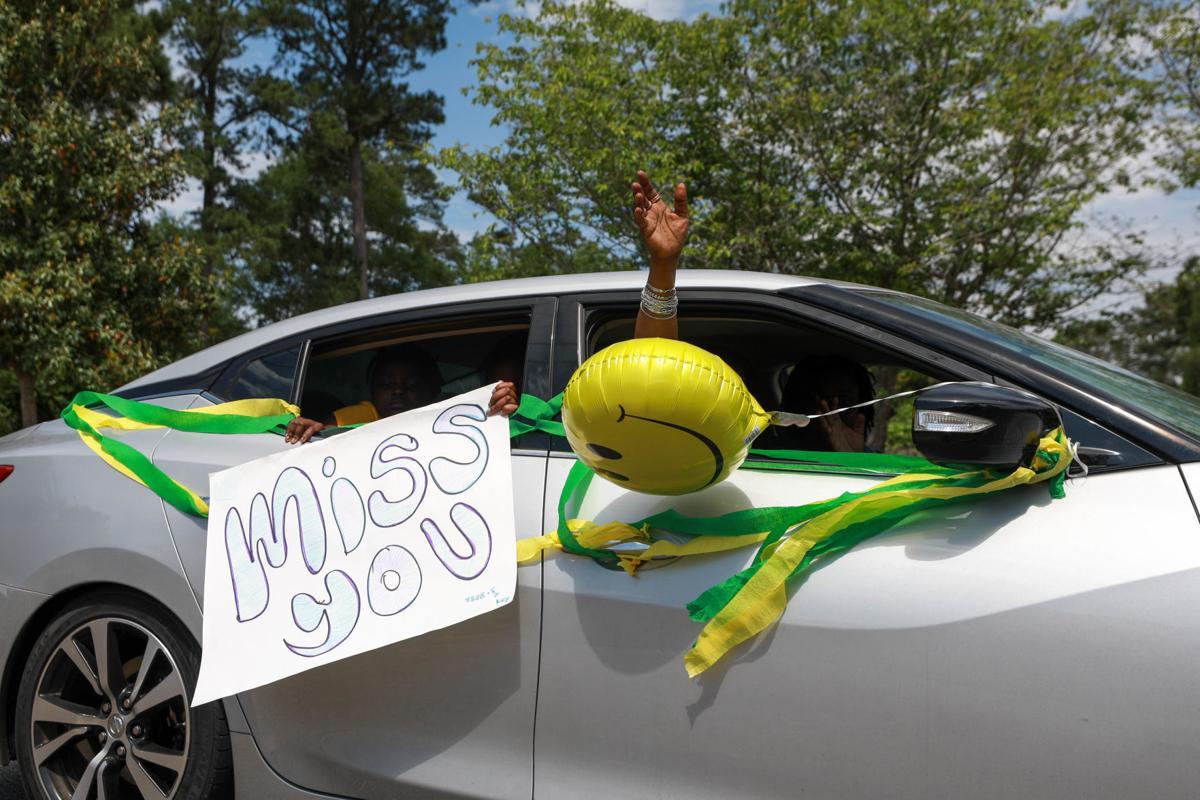 Car parade for Oak Park Nursing Home and Independent Living Community residents