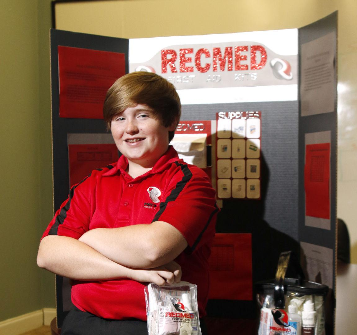 Opelika 14-year-old Receives Patent For First Aid Vending
