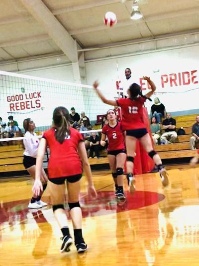 Lee-Scott volleyball 9-10