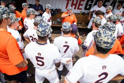 Auburn vs. Louisville at the College World Series