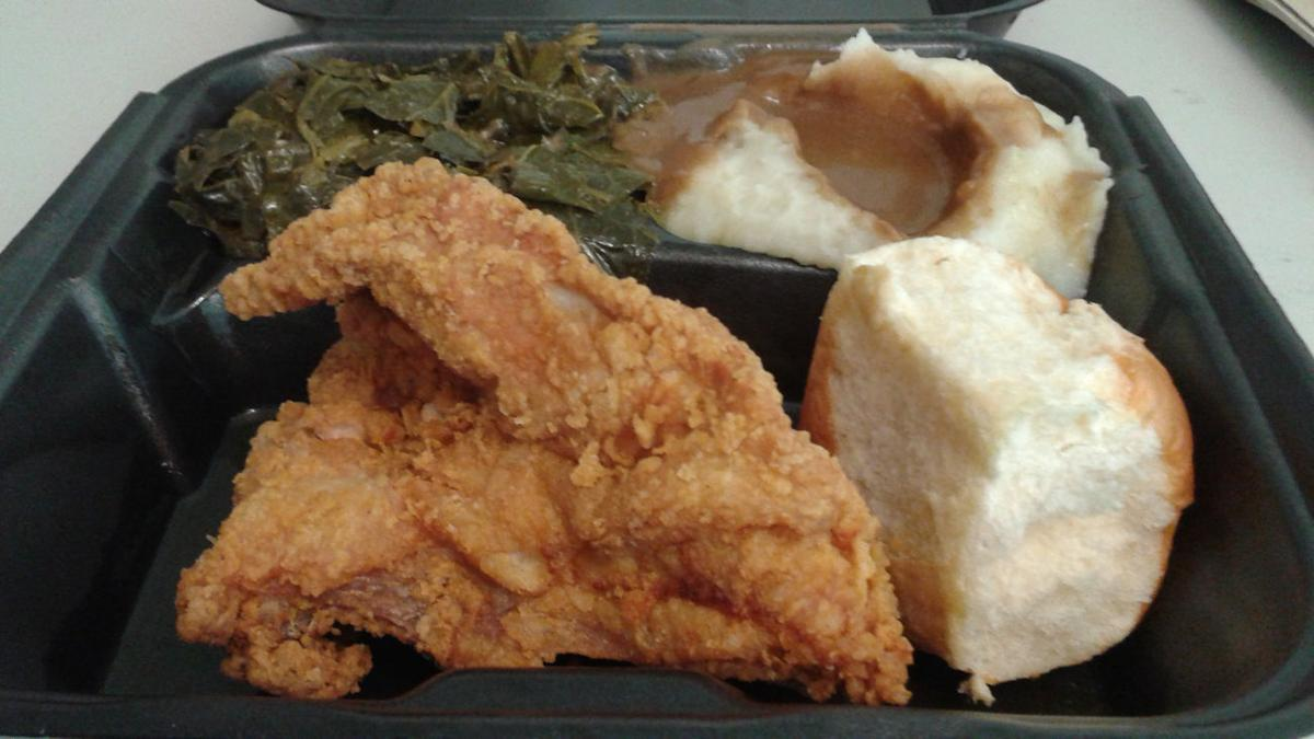 The Dish Good Southern Food At Pannie George S Kitchen The Corner Oanow Com