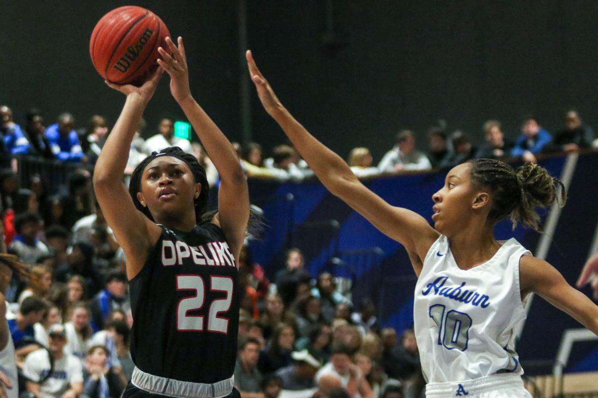 Auburn High vs. Opelika girls basketball