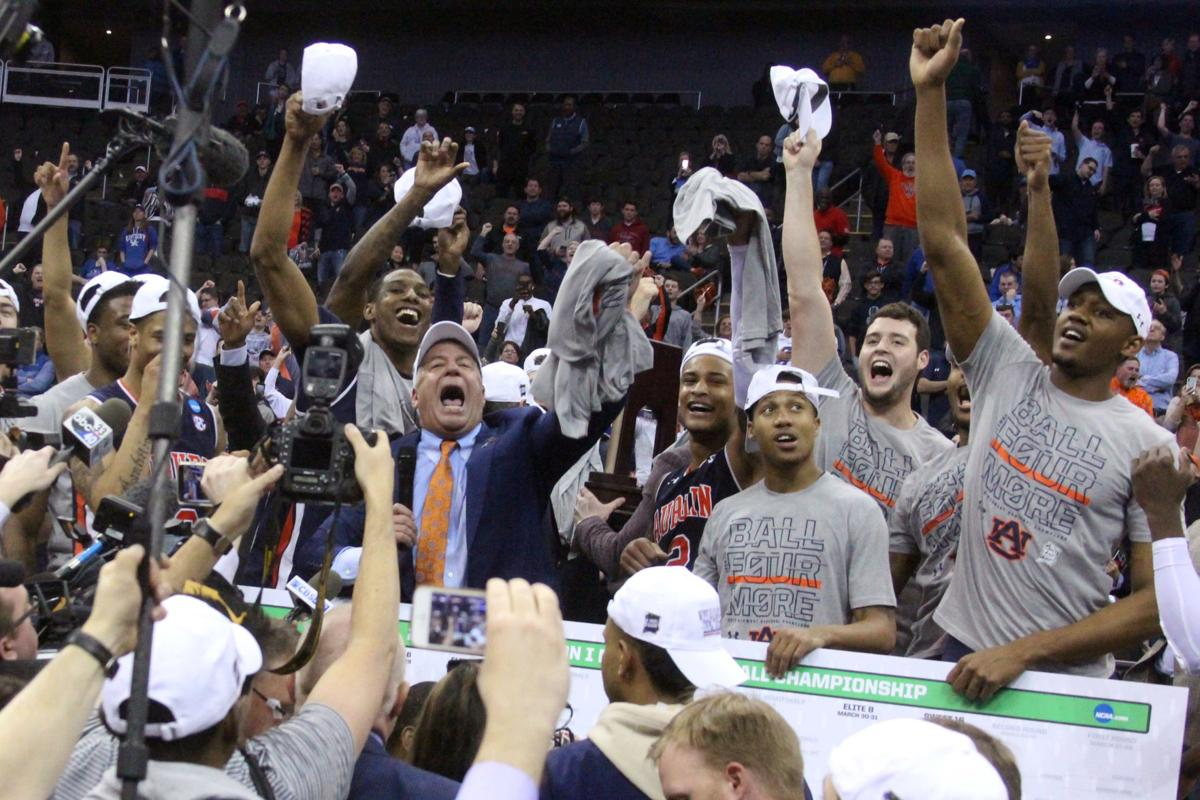 Auburn cuts down the nets at the Elite Eight, celebrates first-ever trip to the Final Four