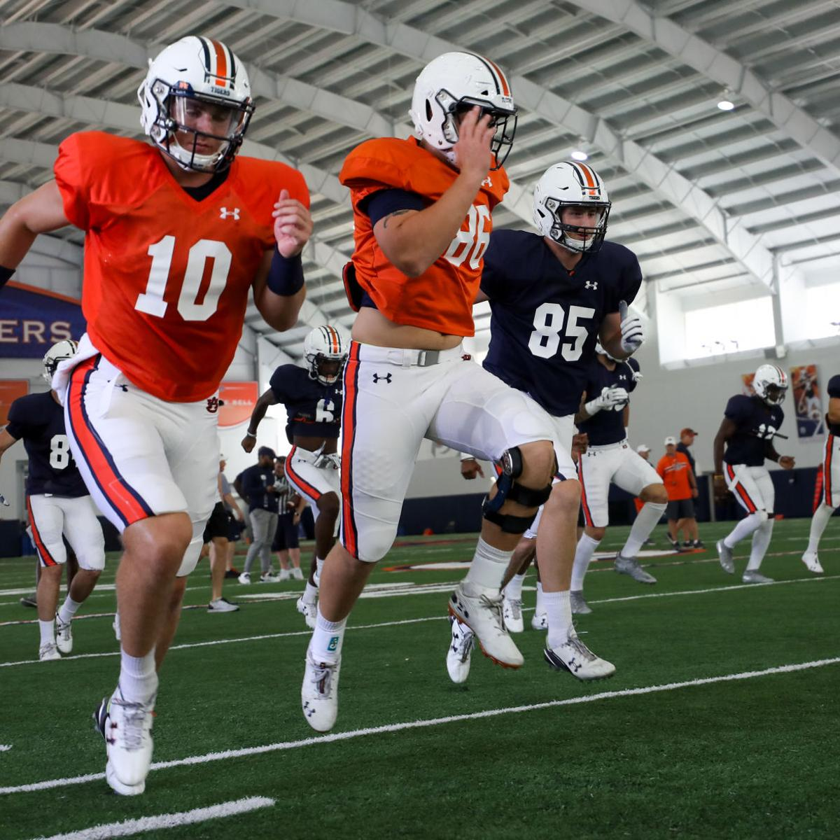 Auburn Football Depth Chart Tigers Announce Starters Before