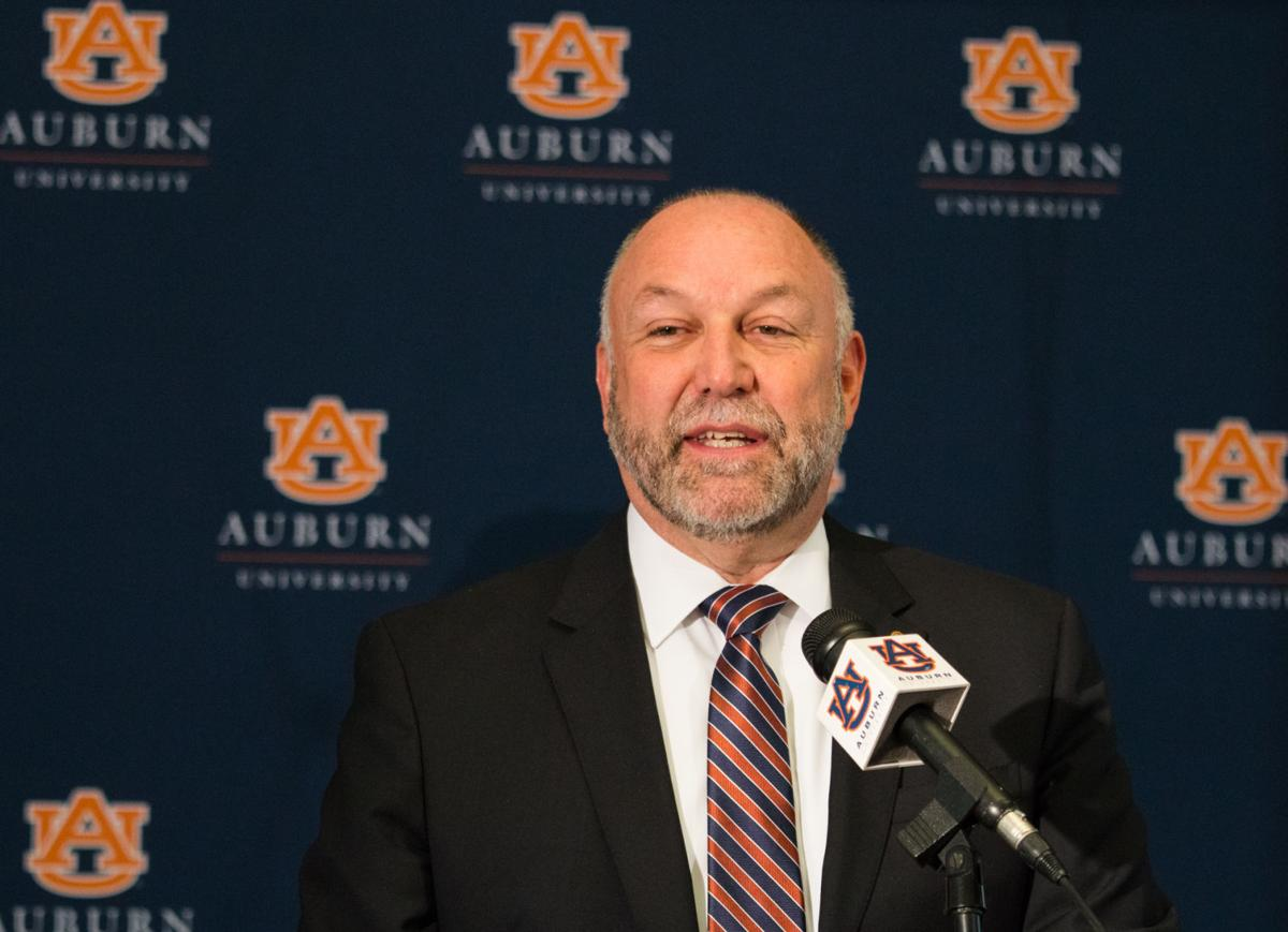 Auburn president Steven Leath to ESPN Chuck Person an isolated