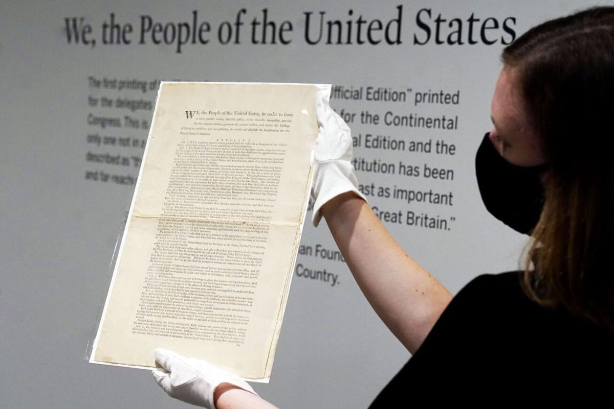Auction US Constitution
