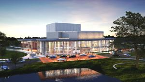 AU updates sketch plan for performing arts center