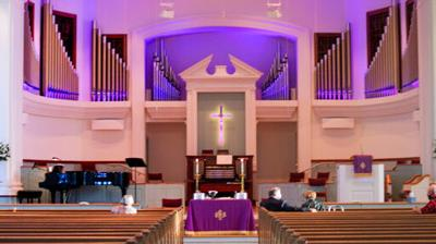 Auburn United Methodist Church prepares for Easter Sunday services (copy)