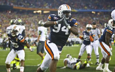 2011 Tostito's BCS National Championship game between Auburn and Oregon
