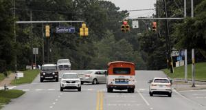 New lanes, median coming to South College in early 2018