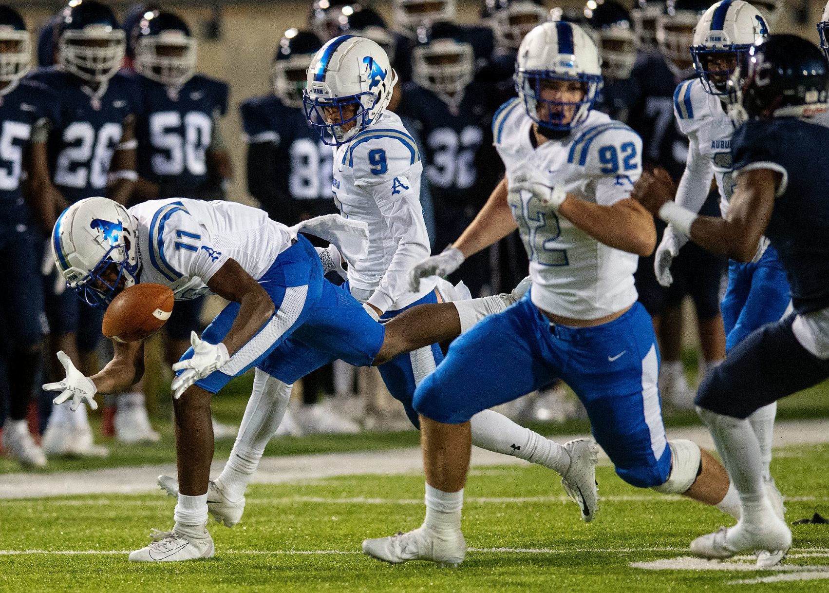 Auburn High Football Makes Schedule Changes Due To COVID High School Oanow com