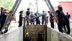Auburn firefighters train for trench rescues