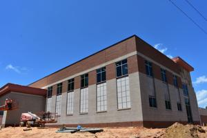 Construction continues on police, public-safety buildings