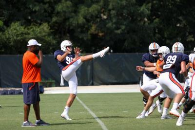 Auburn football practice Aug. 12