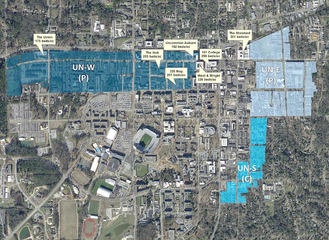 Auburn student housing restrictions