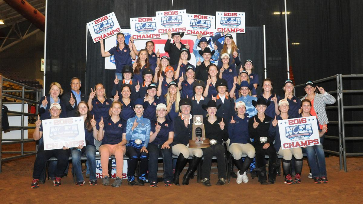 No 1 Auburn Equestrian Captures Fourth National Title In