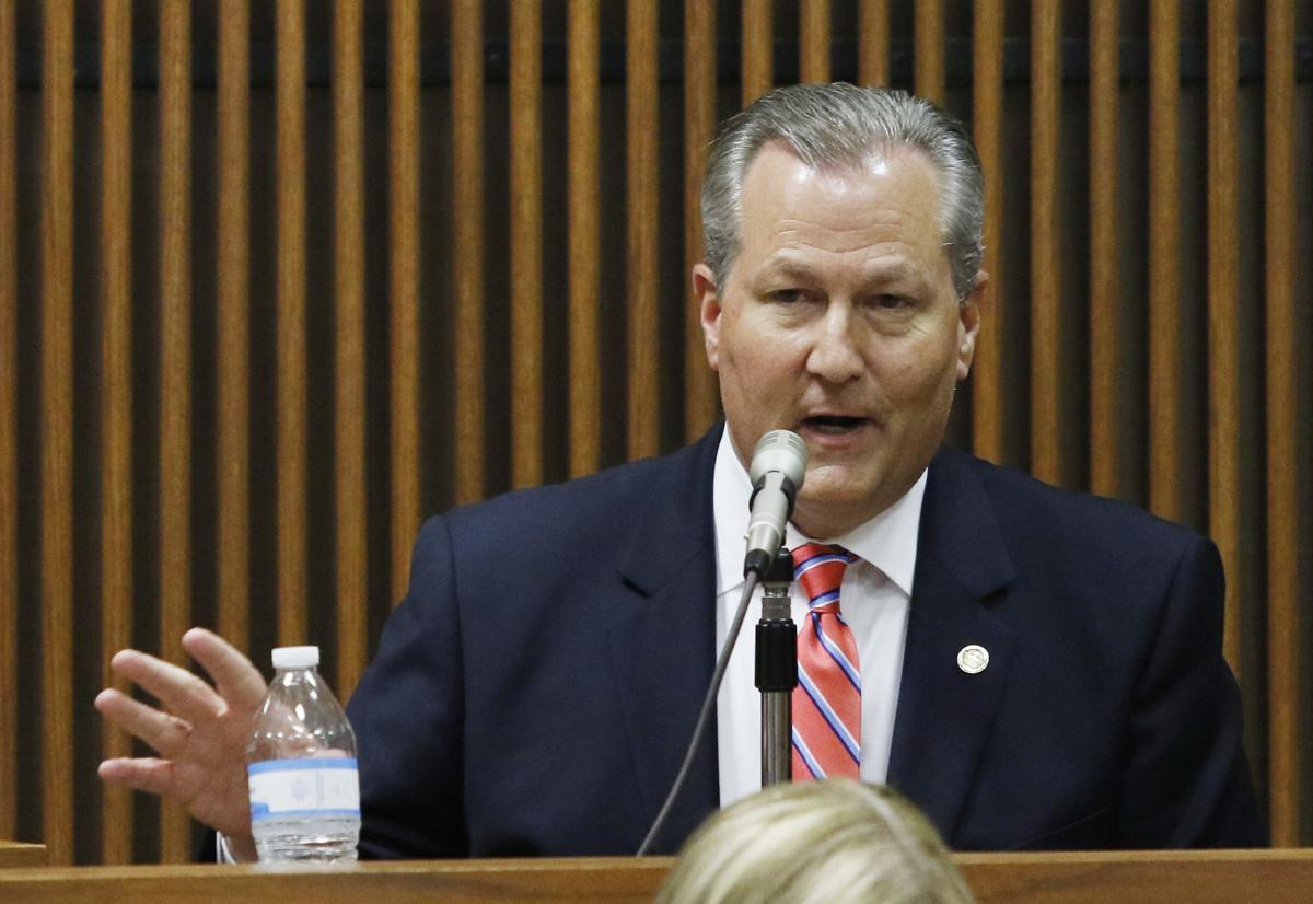 Mike Hubbard on the stand