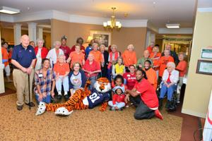 Celebrating 'Family is Forever' with Aubie