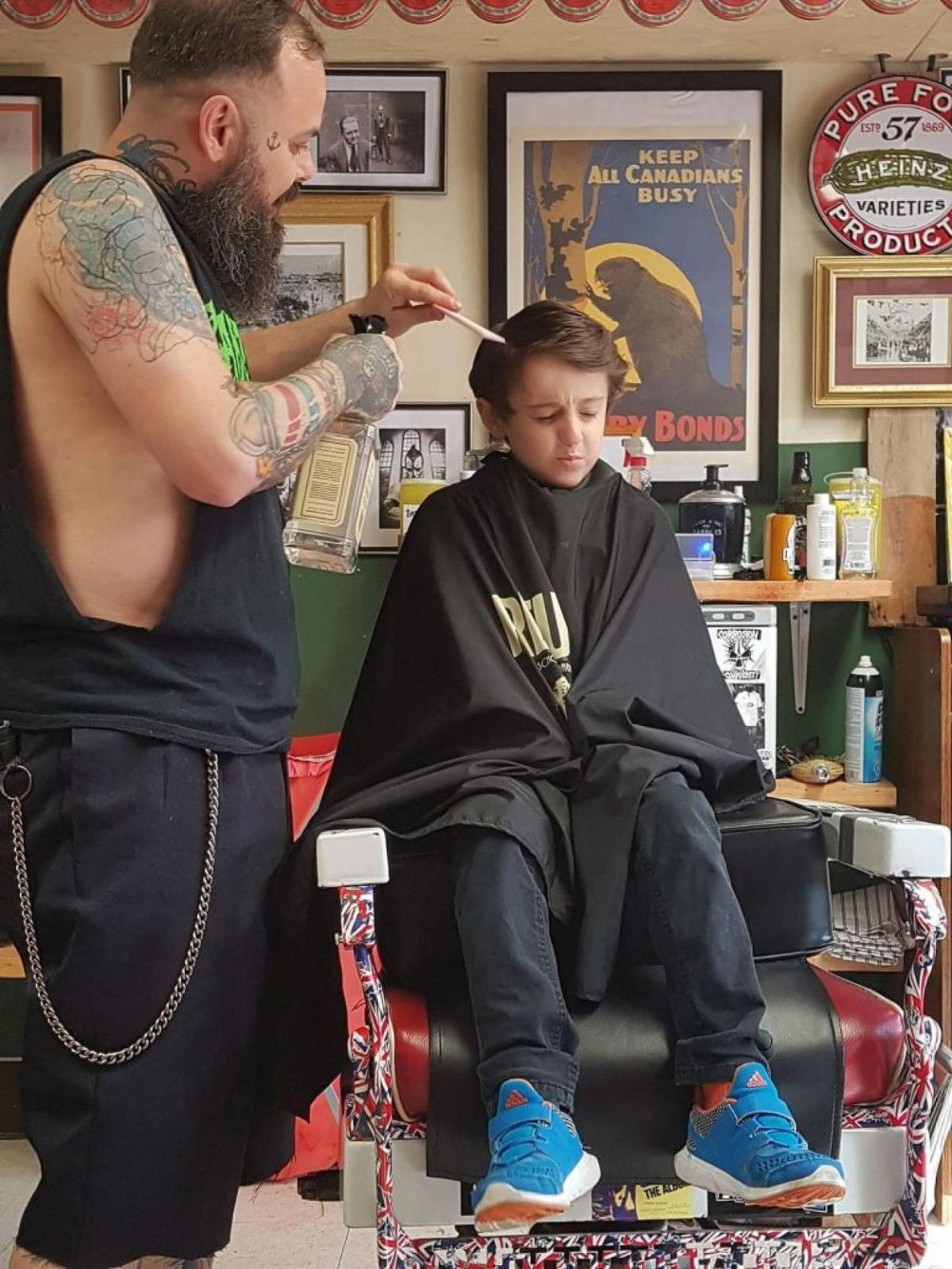 For Children With Autism Haircuts Can Be Traumatic Heres How One