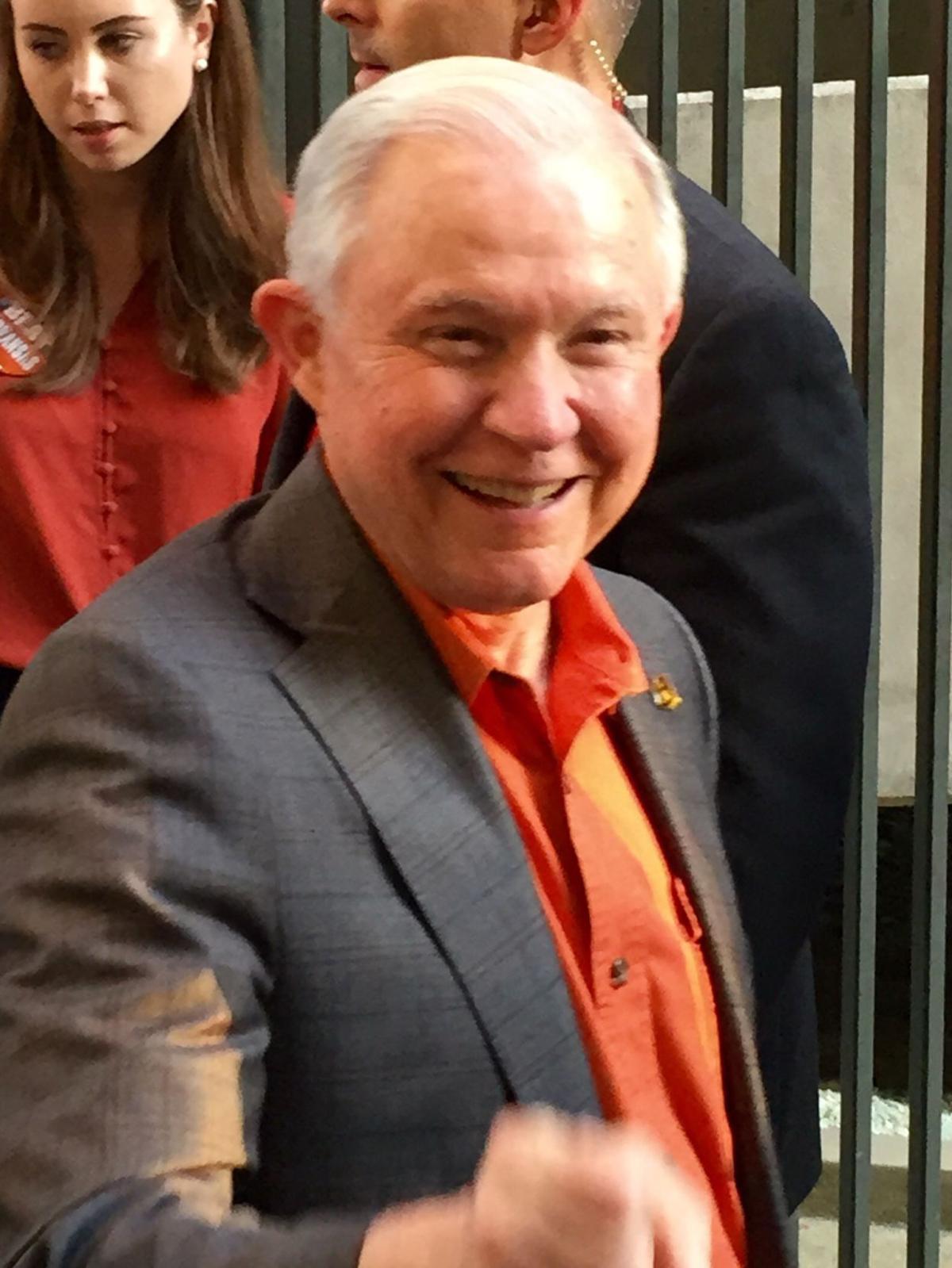 Jeff Sessions at Auburn University