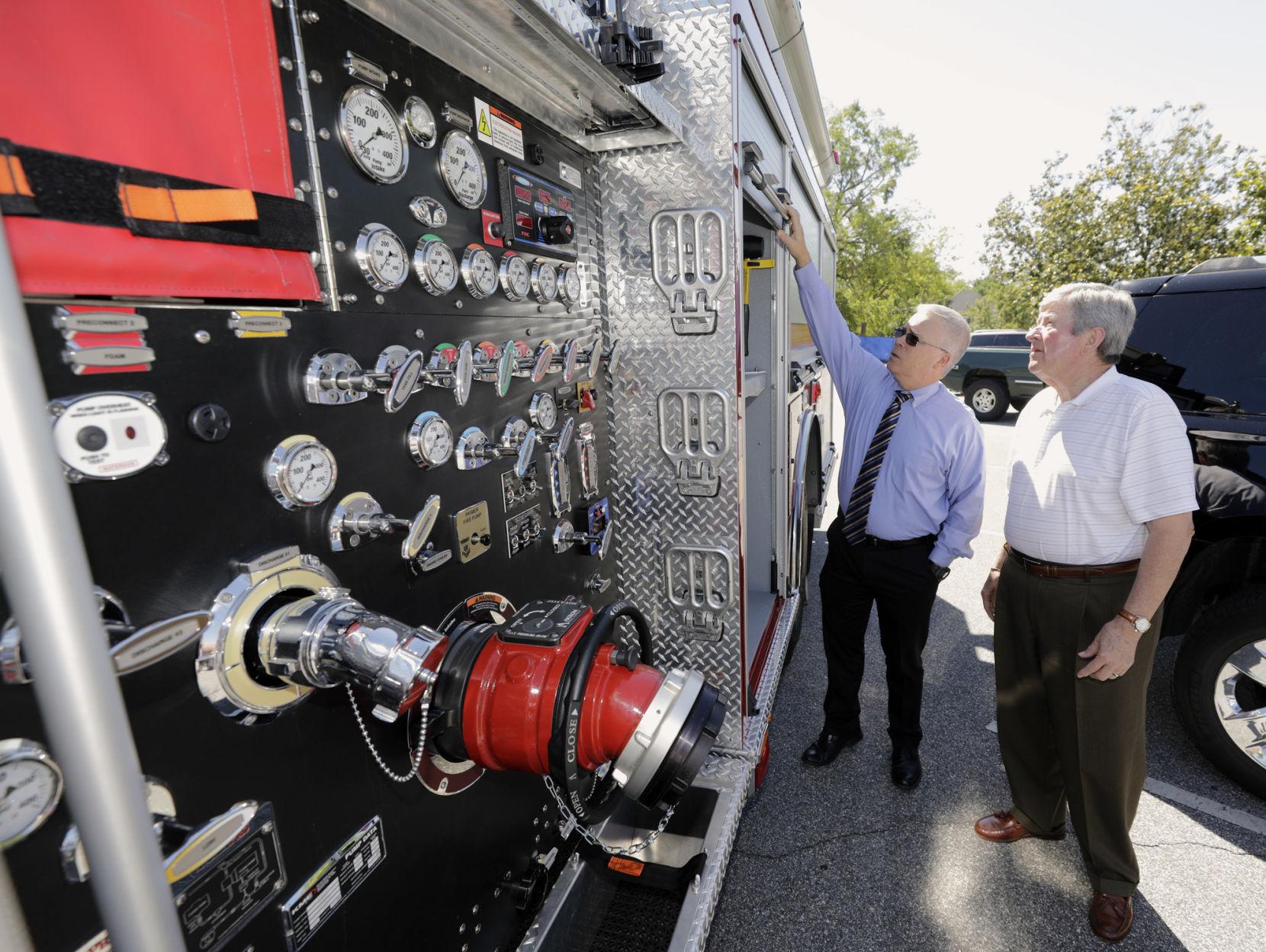 Fuller Fire Truck
