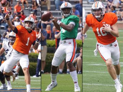 Young Tiger QBs catching up to experienced SEC rivals