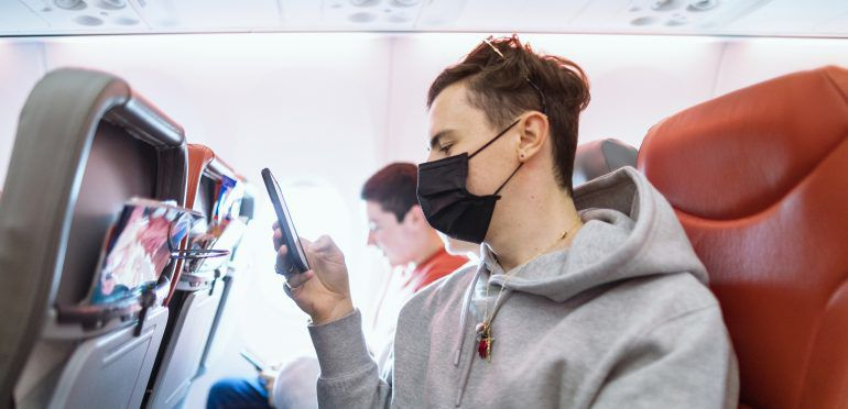 Airlines have required passengers to wear masks.