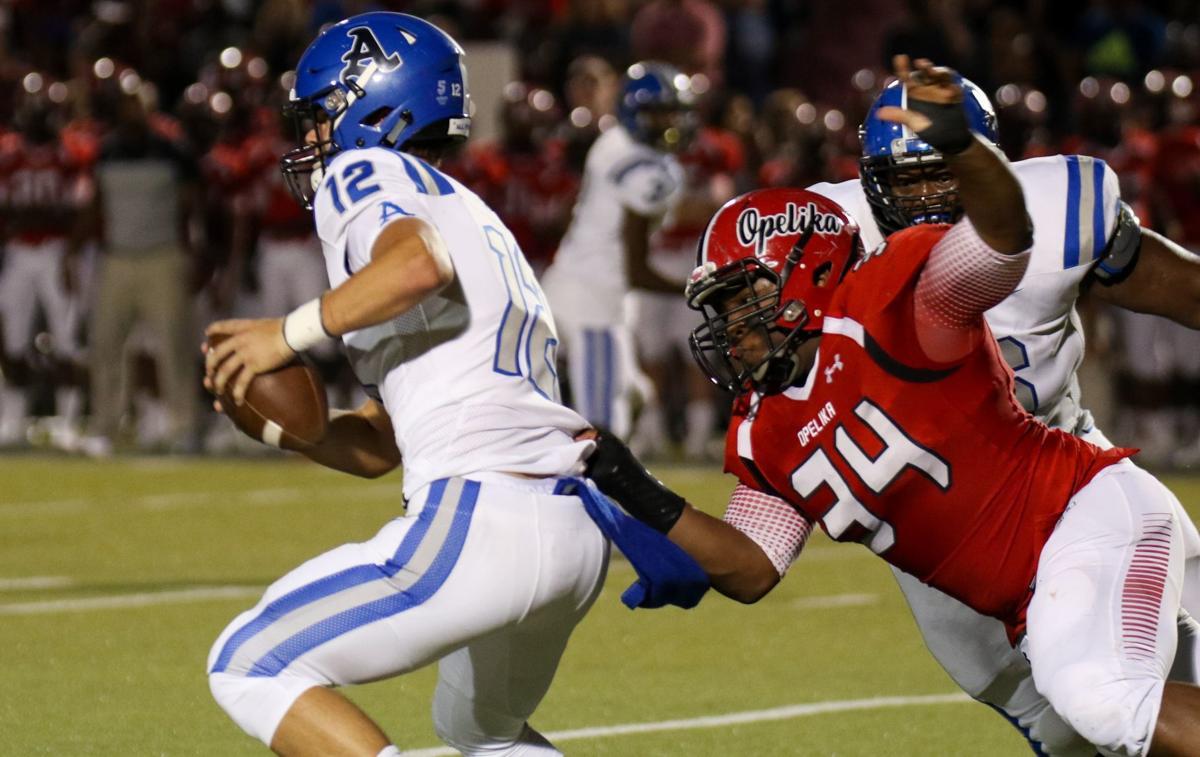 Auburn vs. Opelika high school football
