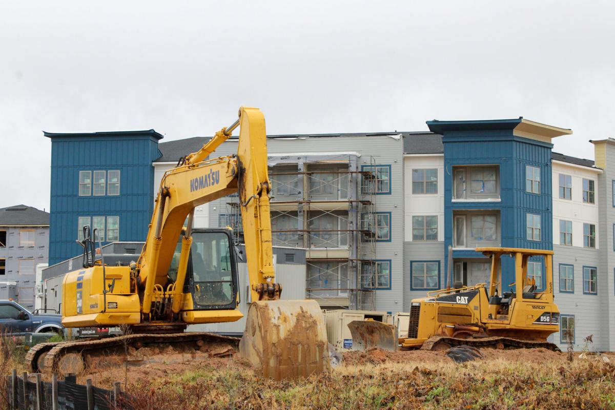 Construction continues for Samford Trace Apartments