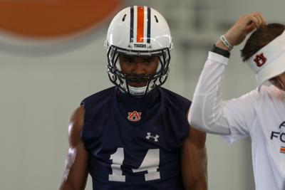 Auburn football first day of fall practice