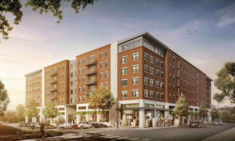 proposed mixed use development would be tallest building in downtown auburn auburn. Black Bedroom Furniture Sets. Home Design Ideas