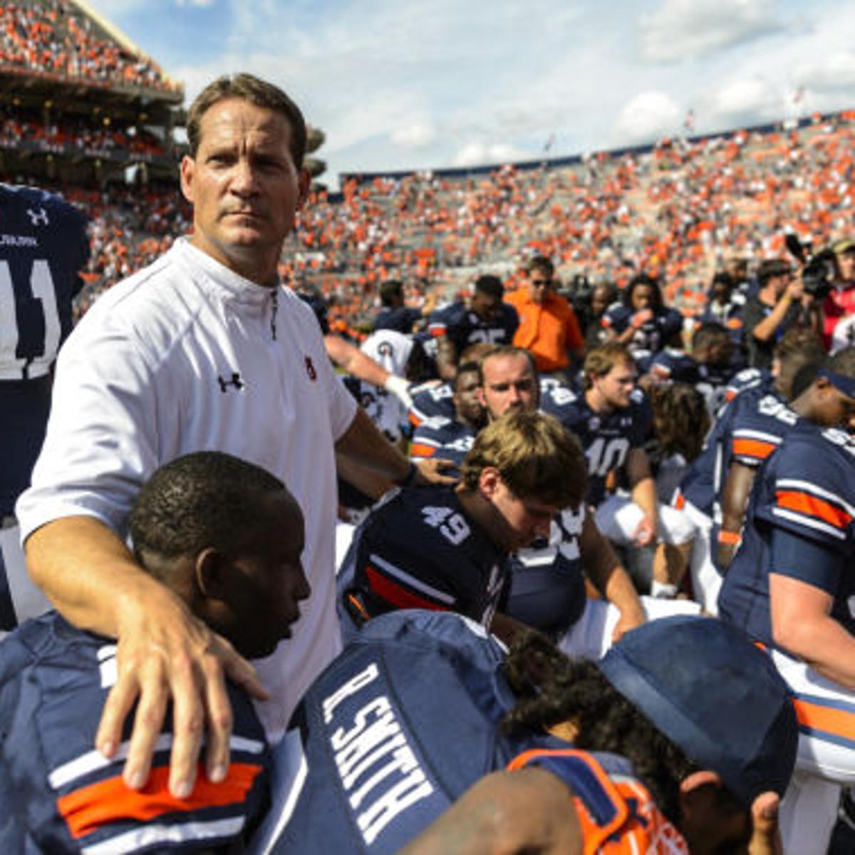 Auburn Football Notebook Auburn S Celebration Muted With