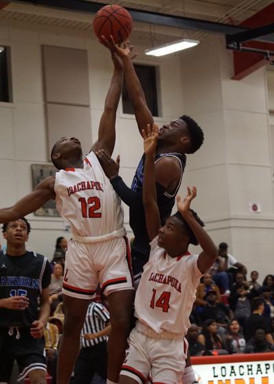 Auburn High Boys Girls Basketball Take Care Of Loachapoka