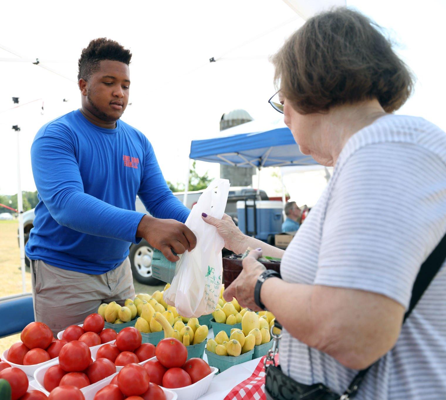 Farmers market season in full swing as weather warms