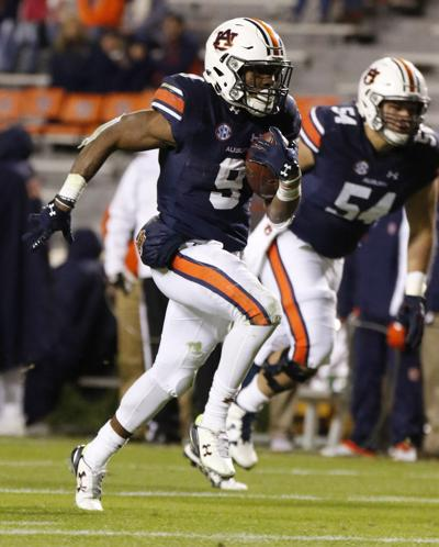 Auburn running back Kam Martin is trying to eat his way up ...