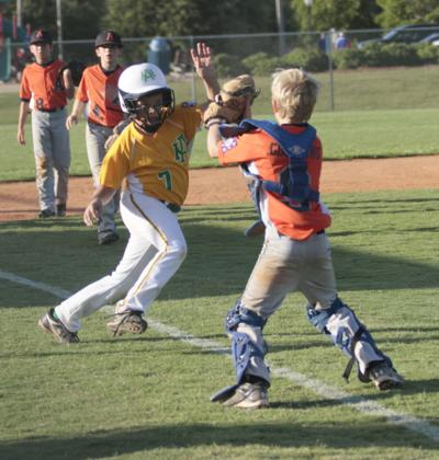 Dixie Baseball: Auburn Orange drops to losers' bracket