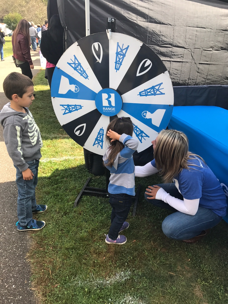 Range Resources is also a regular supporter of the annual Cecil Township Fall Festival