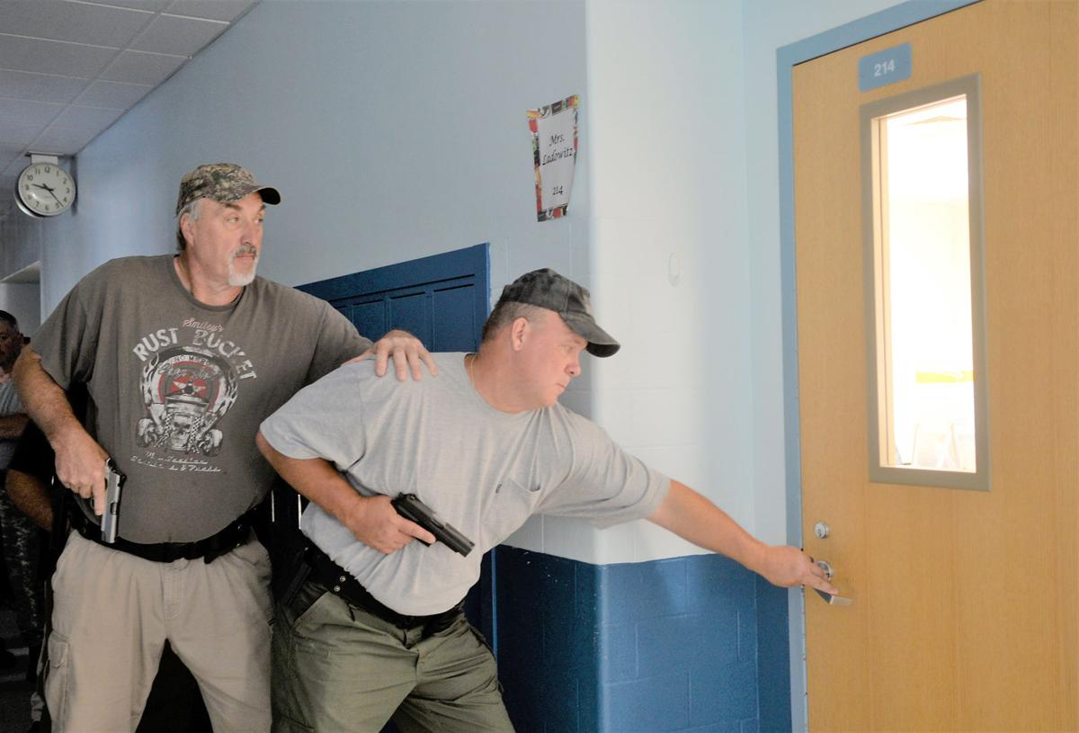 Connellsville school district police and security undergo active shooter training