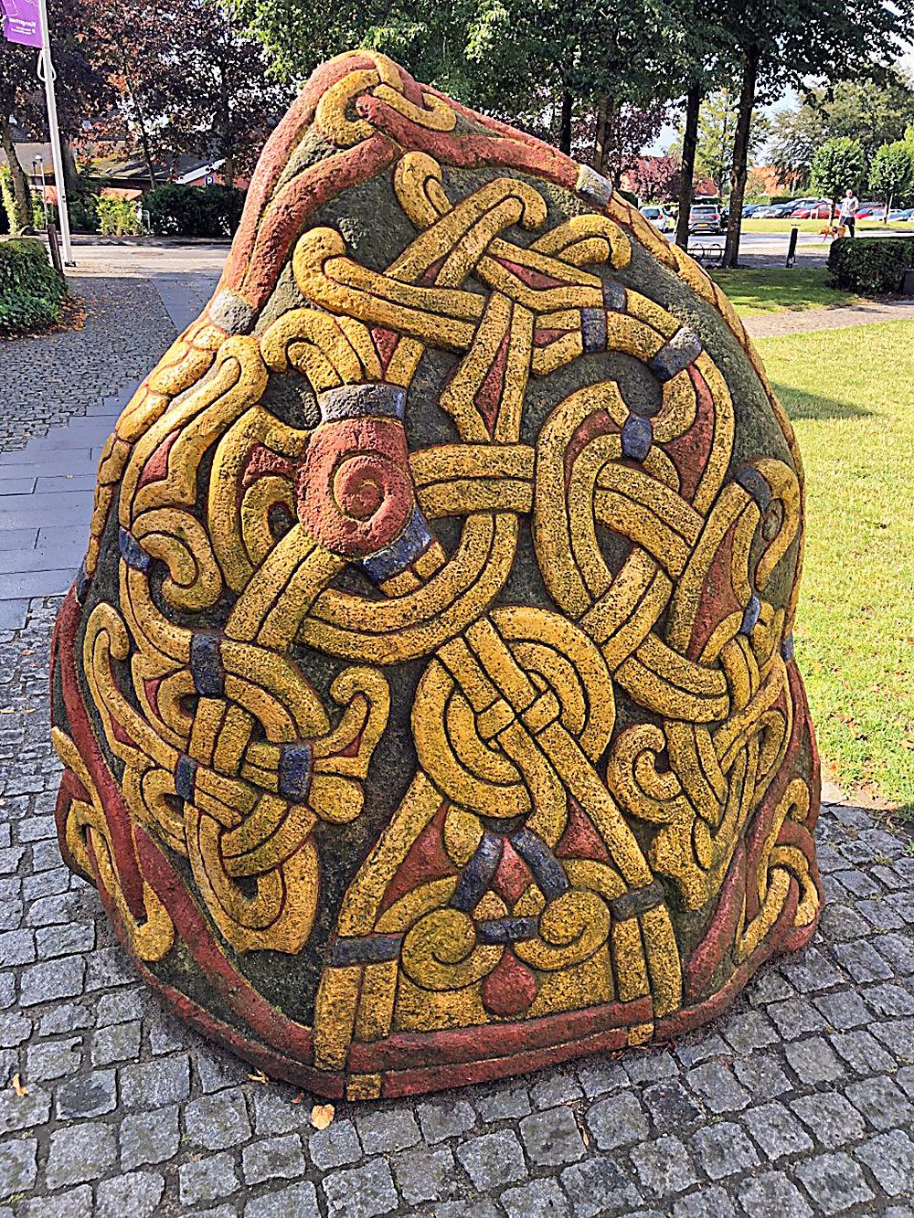 Danish rune stone