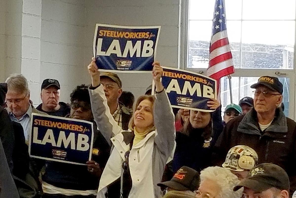 UMWA rallies for Lamb