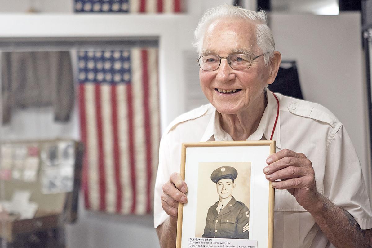 Cal U. World War II exhibit