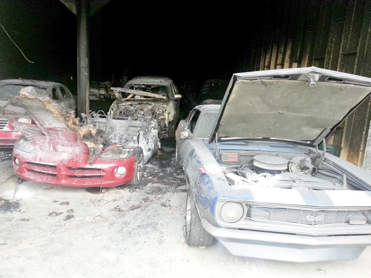 Fire Destroys Classic Cars Stored At North Strabane Garage Local