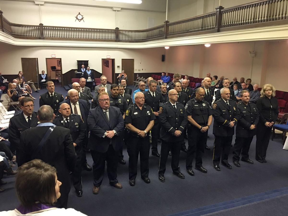 The Masonic Observer: First Responders Honored By Masons