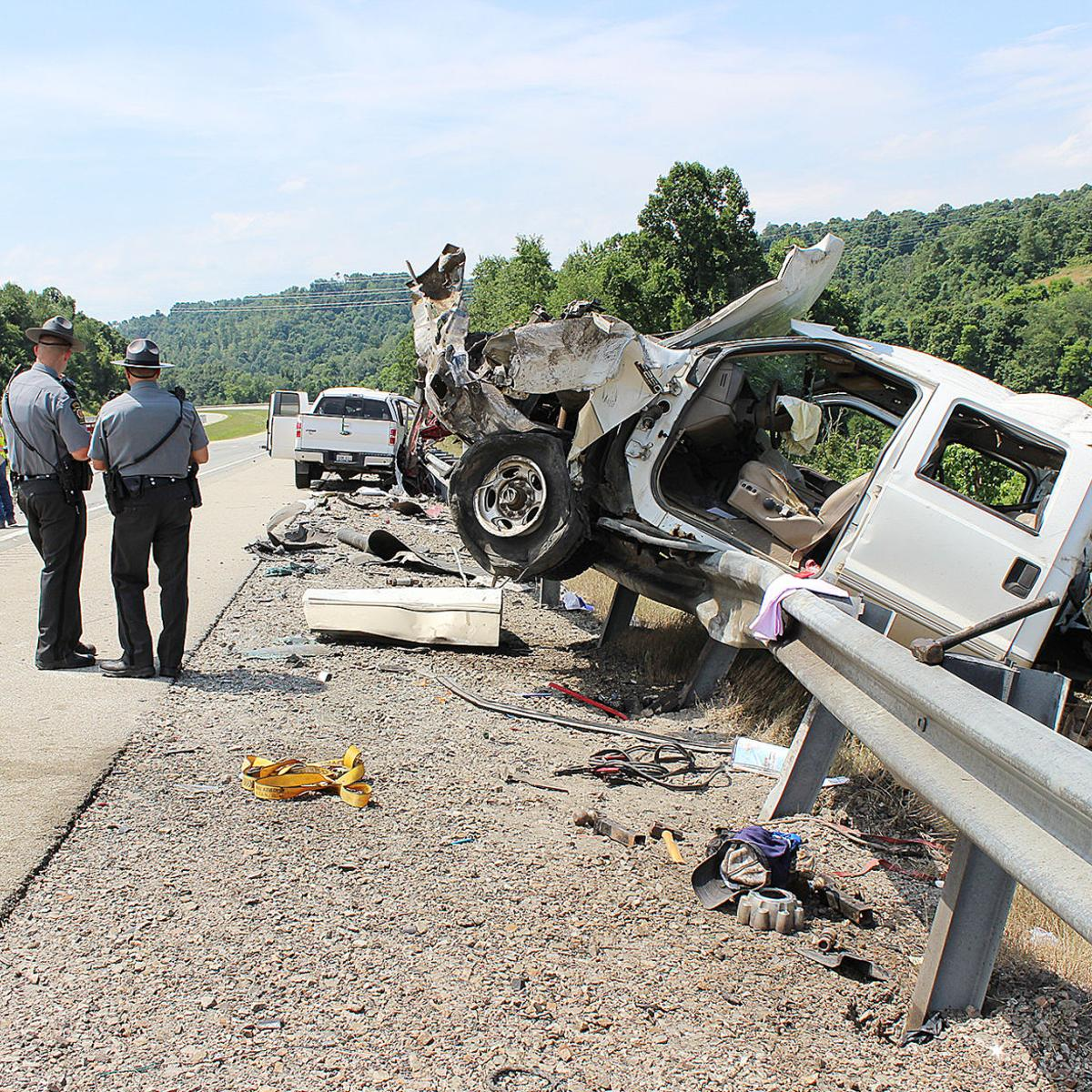 Vehicle malfunction causes multi-vehicle crash on I-79 in Greene